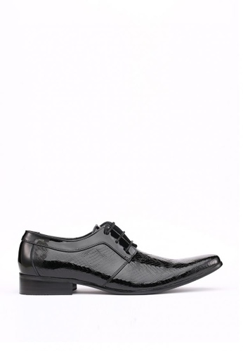 Kings Collection black Murphy Plain Toe Derby F0EEBSHE949BC6GS_1