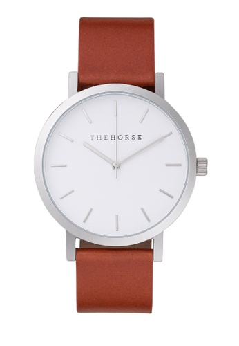 The Horse white and brown and silver The Original Watch 9EC2AAC3ABE54DGS_1