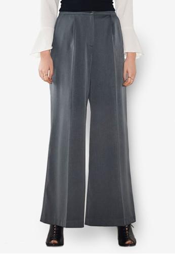 口袋寬管長褲, esprit 品牌服飾, 長褲及內搭褲