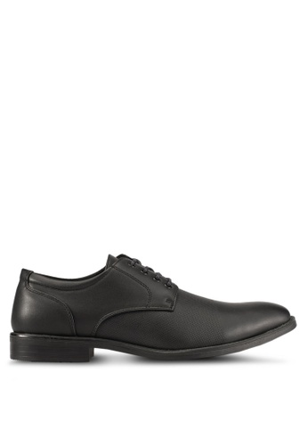 Knight black Lace Up Formal Shoes KN875SH0S9RLMY_1