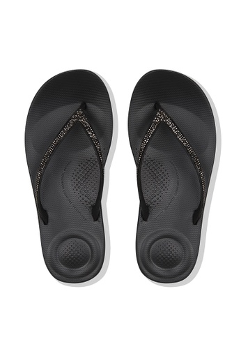 ced6d82991e0 Buy Fitflop Fitflop Iqushion Sparkle (Black) Online
