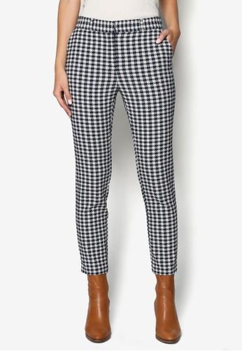 Gingham Cigarette Trousers,topshop hk 韓系時尚, 梳妝