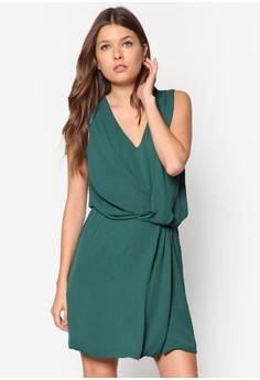 Draped Wrap Dress