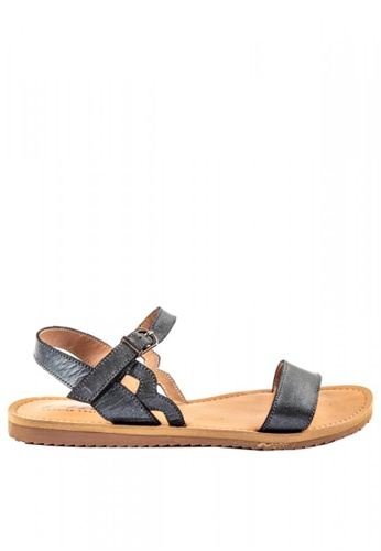 Buckled Slingback Sandals