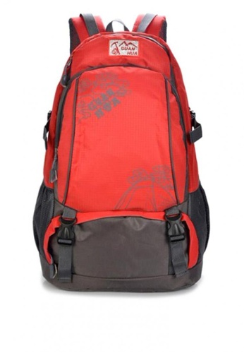 Stylebox red GUANHUA JX-1020  Unisex Waterproof  Sport Multi Purpose Backpack 6A951AC190503DGS_1