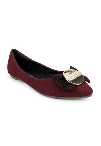 Cardam's Lifestyle red Laliene Flats CA993SH0JVB0PH_1