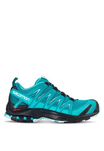 Salomon blue Xa Pro 3D Shoes SA438SH16WDNMY_1