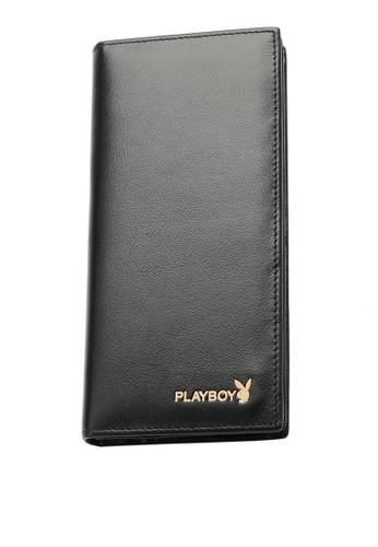 Playboy black Long Wallet AAB61ACFA76987GS_1