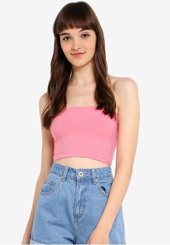 Topshop Womens Sequin Bandeau Top Size 6 8 10 !!!