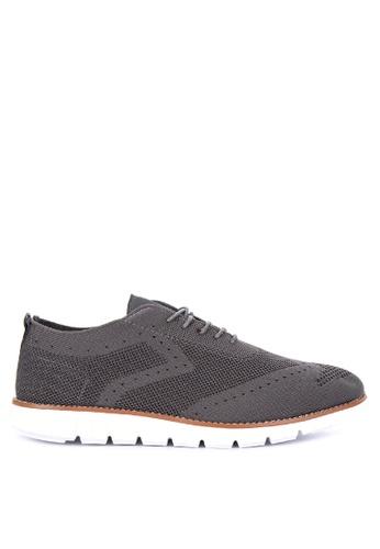 Alberto grey Knitted Oxford Sneakers E27B7SHCA2C2BBGS_1