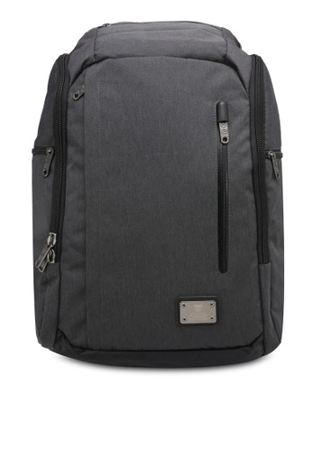High Cultured grey Water-Proof Backpack HI002AC0SPD8MY_1