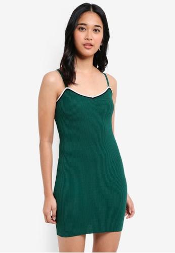 Something Borrowed green Knitted Tank Mini Dress 62546AA12A7C63GS_1