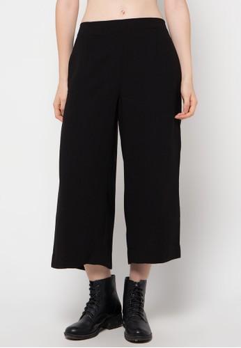 NIKICIO black Wide Leg Trouser NI499AA38SQJID_1
