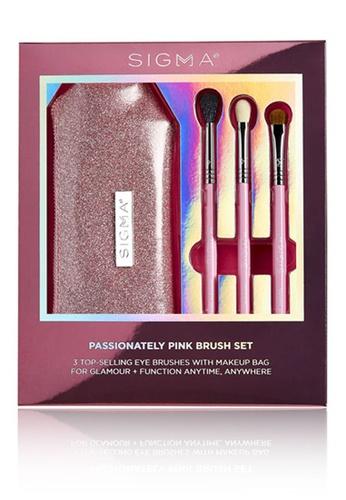 Sigma Beauty pink Passionately Pink Brush Set FE42BBE4B0E6B6GS_1