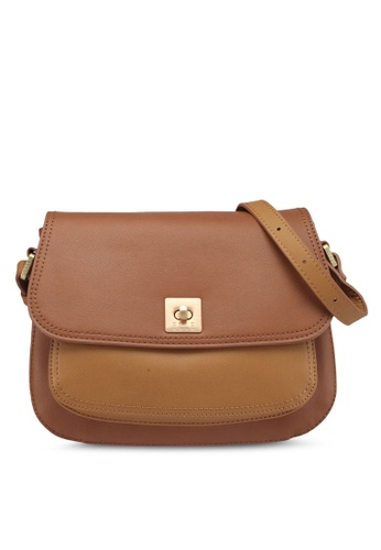 ELLE brown Julieta Sling Bag AF991ACF4984FAGS_1