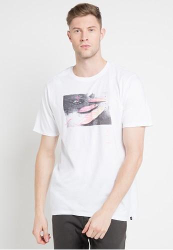 hurley white Amigos Premium Ss T-Shirt C889DAABB59D0EGS_1