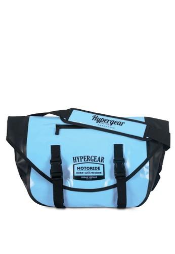 Hypesprit hkergear 雙扣帶翻蓋斜背包, 包, 飾品配件