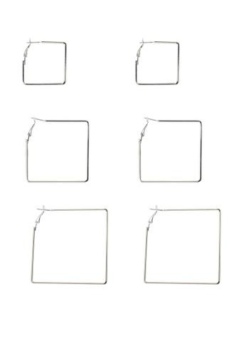 ALDO silver Ciwia Pierced Earrings B92B7ACD5CB5EEGS_1