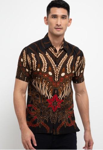 Batik First multi Shirt Slim Short Sleeve 31734AAEE10B35GS_1