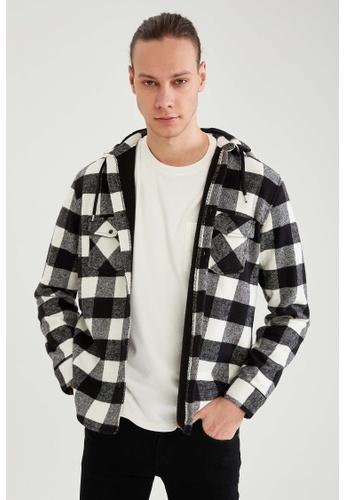 DeFacto white Long Sleeve Shirt 3E8ECAAAFB5046GS_1