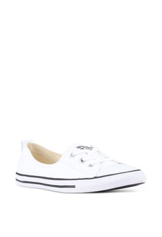 16192e1c5a3d Converse Chuck Taylor All Star Ballet Lace Core Slip Ons RM 189.90. Sizes 5  6 7 8 9. Converse white Chuck Taylor All Star Ox Sneakers CO302SH0SW8JMY 1