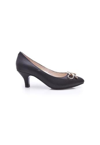 Elisa Litz black Leia Heels (Black) EL365SH0FCM8SG_1