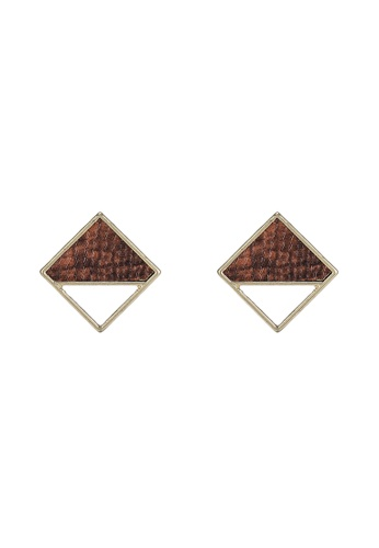 niko and ... brown Panel Earrings 327A9AC349D563GS_1