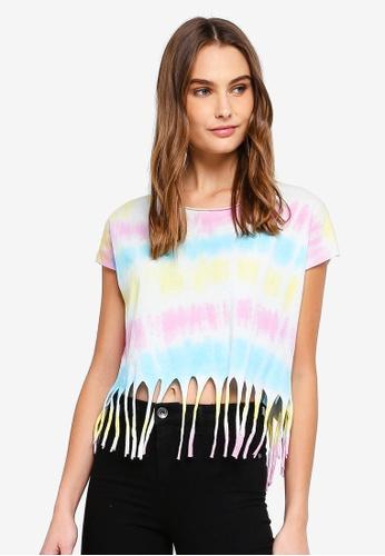 LC Waikiki 粉紅色 暈染 T恤 06175AAD9DEA91GS_1