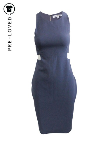 Elizabeth And James blue Pre-Loved elizabeth and james Open Seam Blue Midi Dress DF381AADAC2069GS_1