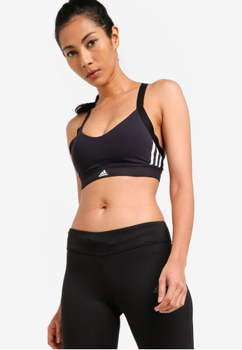 d75dfe98eb756 adidas black adidas all me 3s light support sports bra 42A25US5F6A837GS 1