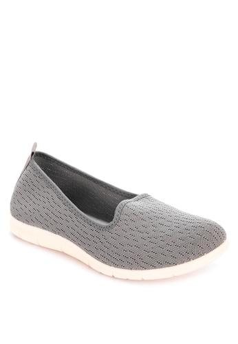 Alberto grey Slip-on comfort shoes FEE8DSH352F6ABGS_1