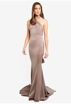Elle Zeitoune Fishtail Fluid Gown With Sweeping Tail RM 1 91430bb05
