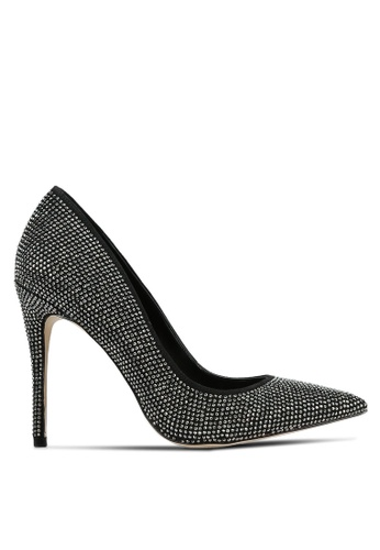 ALDO grey and silver Nirema Heels AL087SH0S3U7MY_1