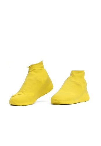 Fashion by Latest Gadget yellow Latex Shoecover S – Yellow C35F2SH09DC618GS_1