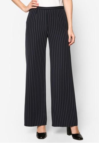 條紋寬管長褲, 服飾, 長褲及esprit台灣內搭褲