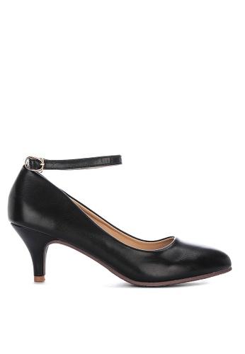 LND black Celen Heels Sandals 73618SH1F08430GS_1