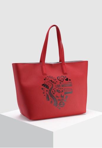 a87ffaf50c3b0 Buy Love Moschino Graphic Tote Bag