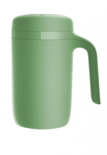 Artiart green Vitality Hill Thermal Suction Mug (Green) (Water Logo) Design by ArtiArt 8ACE7HL9CAE47EGS_1
