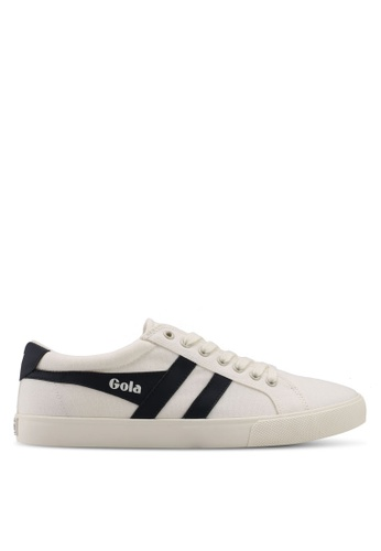 Gola white and navy Varsity Sneakers 395B0SH37355BDGS_1