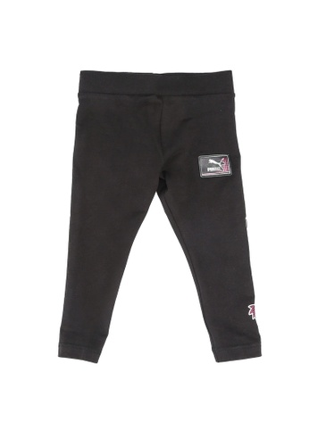 PUMA black PUMA x SEGA Leggings DE399KAAC7D3DEGS_1
