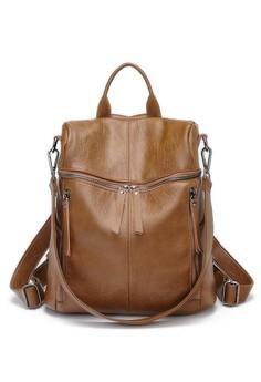 VERNYX brown Monzella 2 in 1 Backpack Shoulder 0ECD9ACEC23B41GS_1