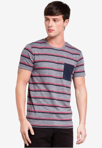 ESPRIT 灰色 短袖T恤 34C14AA52CD7F5GS_1