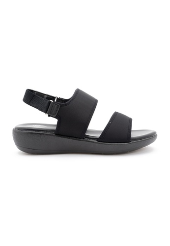 Unifit 黑色 Neoprene Sandal CB6D8SH9F670CEGS_1