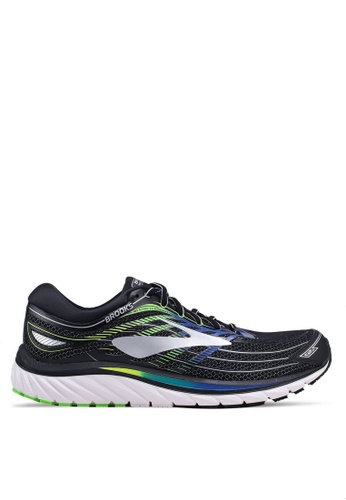 Brooks black Glycerin 15 Shoes 681C0SH9C7B3C8GS_1