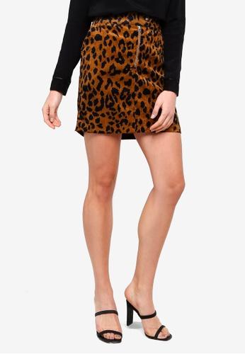 6dedc0a3247 Vero Moda black Sally Short HW Corduroy Skirt F0EDDAA3B9CA82GS 1