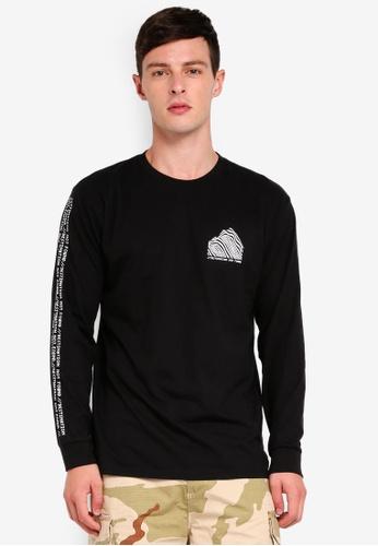 Factorie 多色 Long Sleeve Graphic T Shirt 18AF1AA102510DGS_1