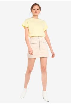 7e46f73c7d 10% OFF Miss Selfridge Zip Front Denim Skirt HK$ 380.00 NOW HK$ 341.90  Sizes 6 8 10 12 14