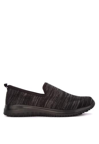 Alberto black Textile Comfort Sneakers C50F1SH3FF1B93GS_1