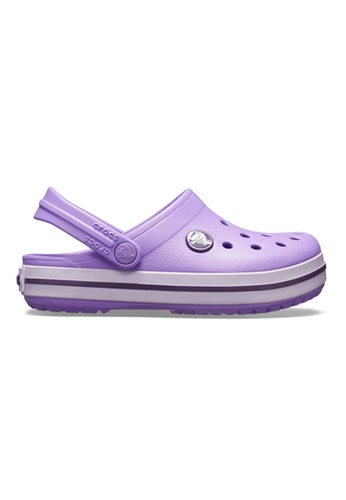 26a6f011 Buy Crocs Kid's Crocband Clog K - Purple Online | ZALORA Malaysia