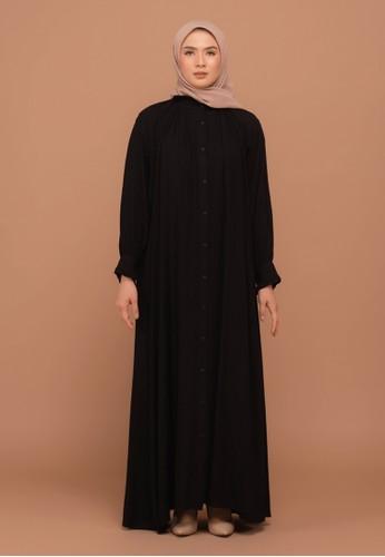 Tufine black Balqis Dress 1A62FAAE0F1589GS_1